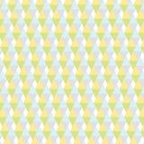 Pastellfärgad triangelbakgrundsmodell Arkivfoto