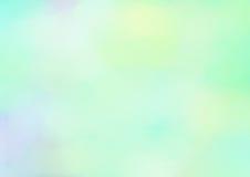 Pastellfärgad vattenfärgbakgrund i blåa färger Format för format A4 royaltyfria bilder
