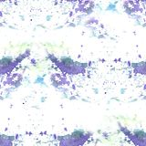 Pastellfärgad violett textur - abstrakt vattenfärgmodell, sömlös bakgrund Royaltyfri Foto