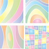 pastellfärgade bakgrunder Royaltyfria Foton