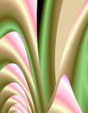 pastellfärgade satängar Arkivfoto