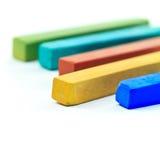 Pastellfärgade sticks Fotografering för Bildbyråer