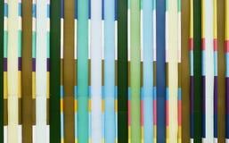 Pastellfärgat staket Royaltyfri Bild