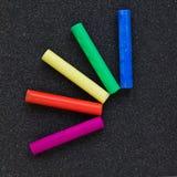 pastellfärgade sticks Arkivfoton