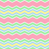 Pastellfarben verlaufen nahtloses Muster im Zickzack Stockfoto