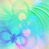 Pastellfractalhintergrund Stockbild