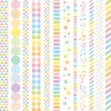 Pastellfärgade regnbågebaner Royaltyfri Fotografi