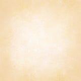 Pastellgoldgelbhintergrund mit weißem strukturiertem Mitteldesign, weich blasser beige Hintergrundplan, alt weg vom Weißbuch Lizenzfreie Stockbilder