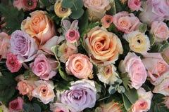 Pastellhochzeitsblumen Stockfotos