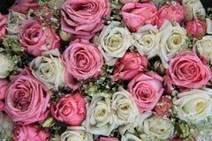 Pastellhochzeitsblumen Stockbild
