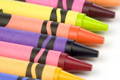 Pastelli Fotografie Stock