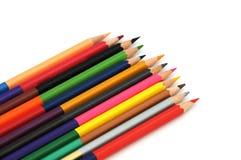 Pastelli colorati - matite di colore Fotografia Stock Libera da Diritti