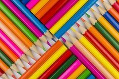 Pastelli come immagine del fondo Fotografie Stock