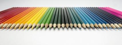 Pastelli come immagine del fondo Immagini Stock Libere da Diritti