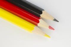 Pastelli come immagine del fondo Fotografia Stock Libera da Diritti