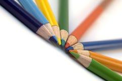 Pastelli della matita Fotografia Stock