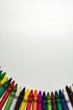 Pastelli di cera Immagini Stock Libere da Diritti