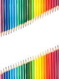 Pastelli diagonali Immagine Stock Libera da Diritti