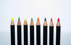 Pastelli een colori Royalty-vrije Stock Foto's