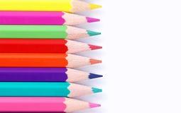 Pastelli multicolori Fotografie Stock Libere da Diritti