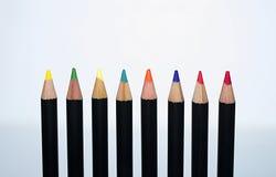 Pastelli un colori Fotografie Stock Libere da Diritti