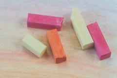 Pastello arancio e rosa Fotografia Stock