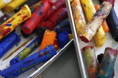 Pastello dei pittori Fotografia Stock
