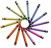 Pastello di colore Fotografia Stock Libera da Diritti