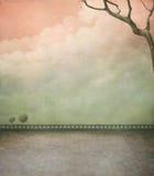 Pastellplakat stock abbildung