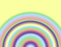 Pastellregenbogen lizenzfreie stockfotos