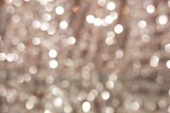 Pastellrosahintergrund Bokeh mit unscharfen Lichtern Lizenzfreie Stockbilder