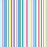 Pastellstreifen-Muster Lizenzfreies Stockbild