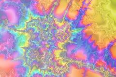 pastelltumult Arkivbilder