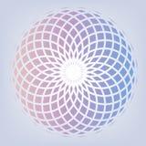 Pastelowego colous kwiatu kształtny tło ilustracja wektor