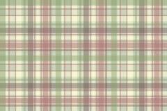 Pastelowego koloru czeka szkockiej kraty tkaniny bezszwowy wzór Zdjęcia Stock