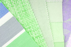 Pastelowego koloru projekta wybór dla wnętrza Zdjęcie Royalty Free
