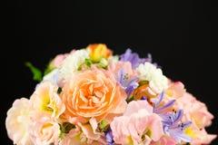 Pastelowego wiosna kwiatu ślubny bukiet Obraz Royalty Free