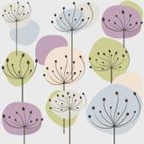 Pastelowy dandelion Zdjęcie Stock