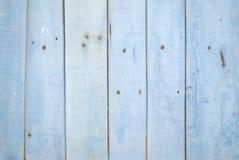 Pastelowy mlecznoniebieski deski tło Fotografia Stock