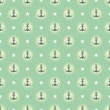 Pastelowy nautyczny wzór Obrazy Stock