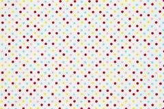 pastelowy polki kropki wzoru tło Zdjęcie Royalty Free