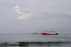 Pastelowy waterscape Zdjęcie Stock
