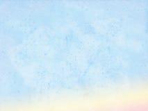 Pastelowy wodnego koloru tło Obrazy Royalty Free