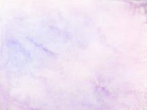 Pastelowy wodnego koloru tło Obraz Stock