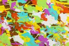 Pastelowych kolorów drewniany zbożowy tło ilustracji