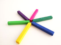 Pastels. Of diffrenet coulers for arts Stock Photos