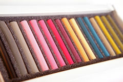 Pastels foto de stock