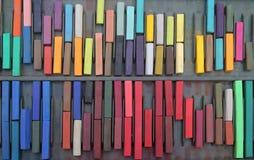 Pastels coloridos velhos Imagem de Stock
