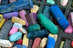 Pastels d'art Image libre de droits