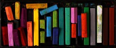 Pastels de pétrole Photo stock